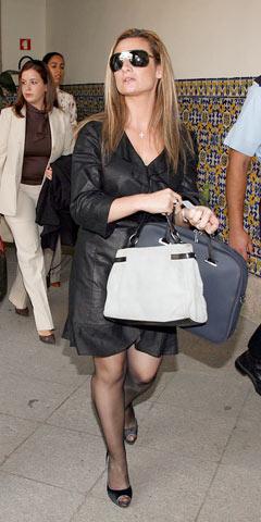 Carolina Salgado vai ser julgada por furto e abuso de confiança