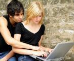 Casalinho e computador