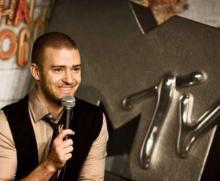 Justin Timberlake é o anfitrião dos MTV Europe Music Awards (foto Lusa)
