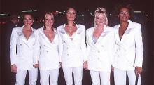 Spice Girls na antestreia do filme Spice World