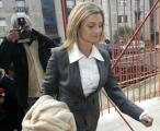 Carolina Salgado chega ao tribunal - Foto de Estela Silva para Lusa