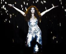 Beyoncé ao vivo no Pavilhão Atlântico (foto Cláudio Andrade)